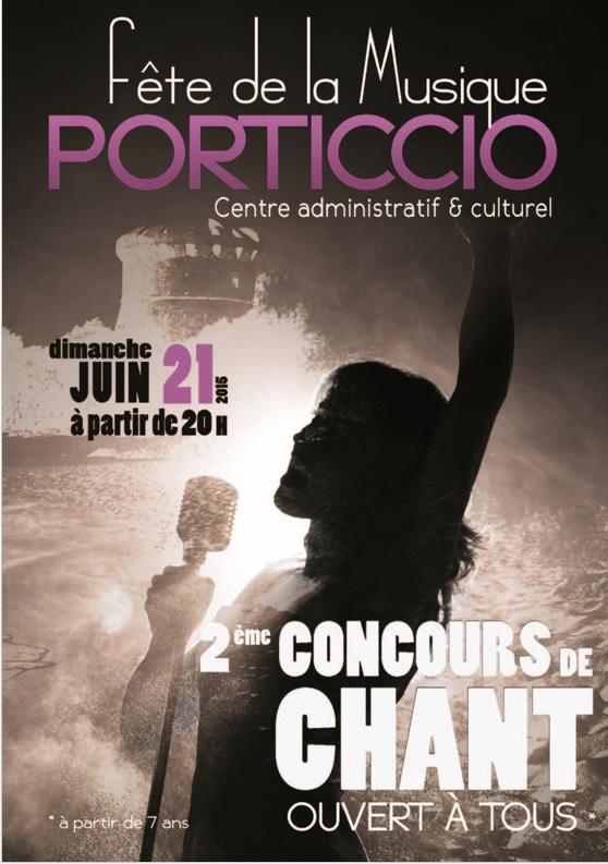 Le centre administratif et culturel de Porticcio lance les inscriptions du concours de chant du 21 juin