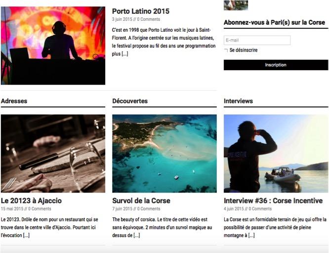 Pari(s) sur la Corse, le site qui promeut l'entreprenariat insulaire