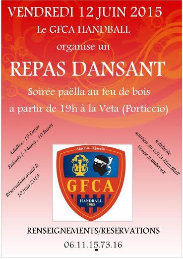 GFCA Hand Ball : une soirée paëlla au profit du club