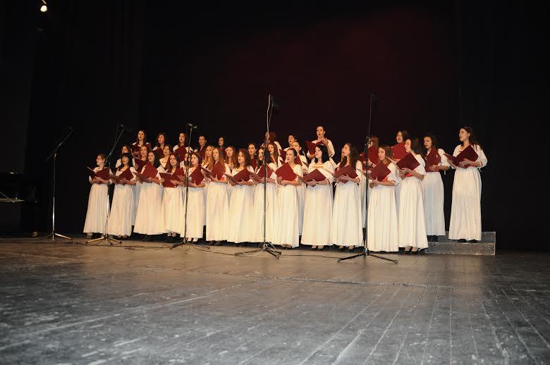 "La Chorale  ""Stiv Naumov"" de Bitola en représentation en Corse"