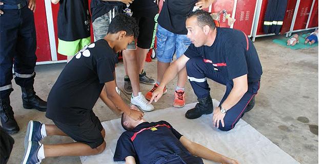 Les sapeurs-pompiers de Cervioni ont initié 250 collégiens à la culture du risque