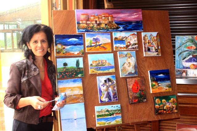 Calvi : Sylvie Lombardo expose au VV La Balagne