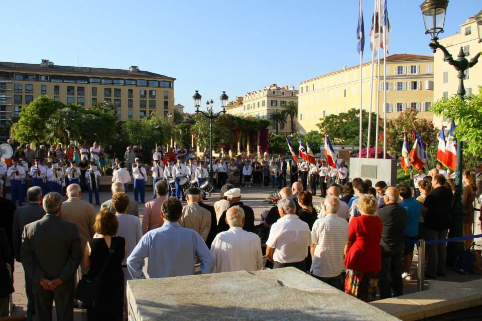 Ajaccio : Commémoration de l'appel du 18 Juin