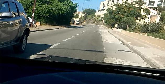 Des trous sur la chaussée provoquent l'exaspération à L'Ile-Rousse