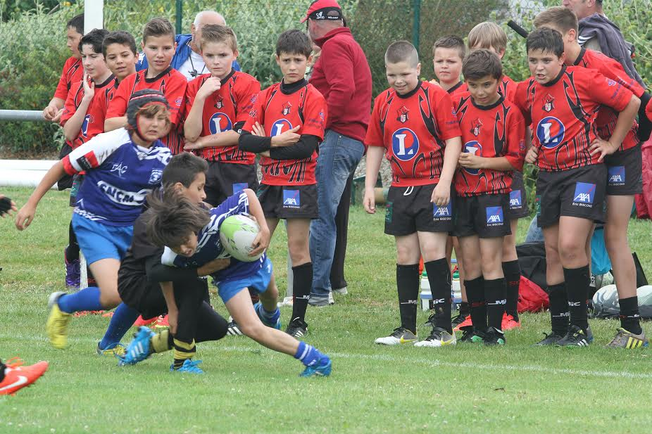 Les jeunes rugbymen corses s'illustrent au challenge Roger-Guiter