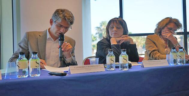 Sylvie Guillaume lors de la conférence  TTIP