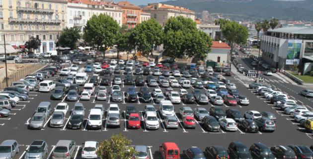 Ajaccio : Le nouveau fonctionnement du parking des Quais