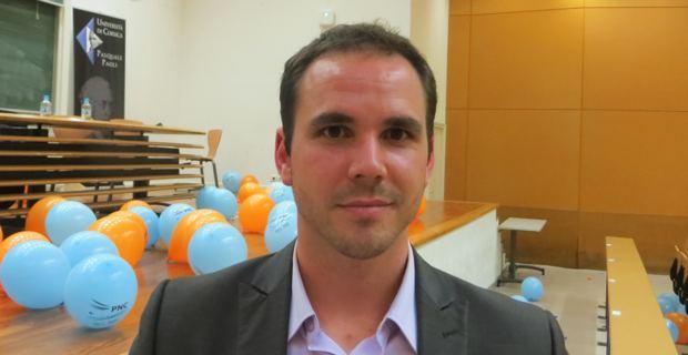 Roccu Garoby, membre du PNC Ghjuventu et du PNC (Partitu di a Nazione Corsa), président de l'Alliance libre européenne (ALE) Jeunes, conseiller politique au Parlement européen pour le groupe des Ecologistes et des Nationalistes.