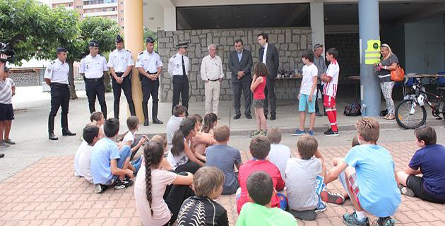 Ajaccio : Remise des prix de la piste routière et des permis cycliste