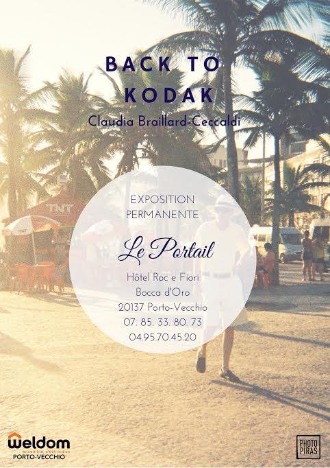 """Porto-Vecchio : """"Back To Kodak"""", l'exposition de Claudia Braillard-Ceccaldi"""