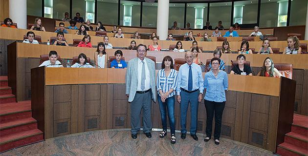 Ajaccio : L'Assemblée des enfants en session plénière