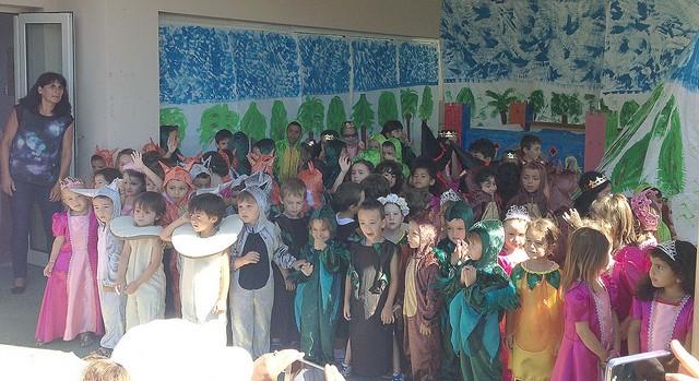 A l'école maternelle de Cardellu à Calvi on a fêté la fin d'année scolaire