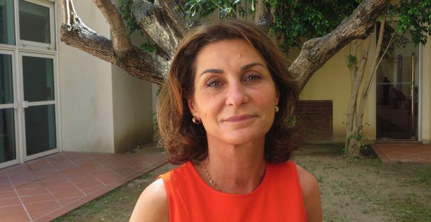 Valérie Franceschi, conseillère territoriale du groupe Rassembler pour la Corse et adjointe au maire d'Aleria.