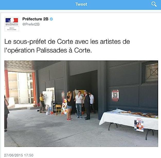 Corte : Projet artistique « Operata palicciata »