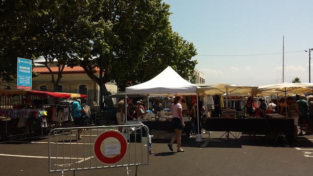 Ajaccio : Le retour des forains en centre ville