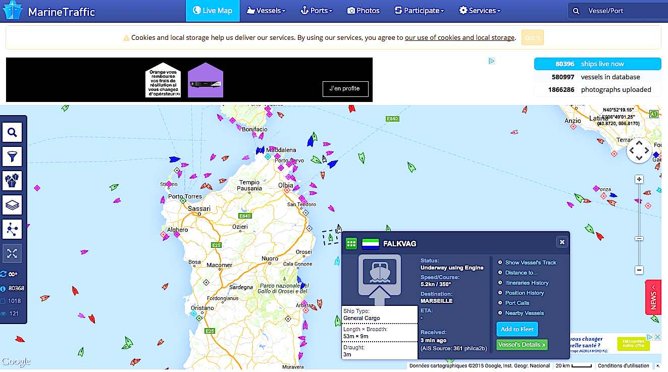 Marine nationale : Enquête de pavillon en haute mer sur un navire suspect