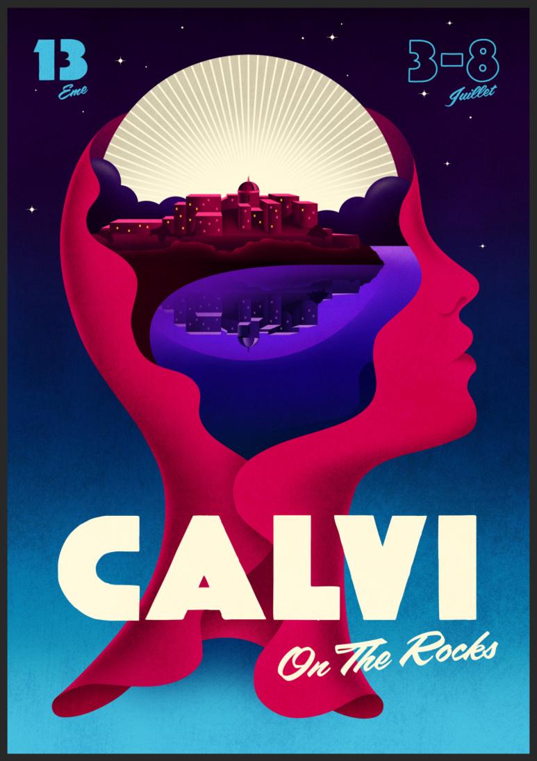 Forte canicule annoncée sur le 13ème  « Calvi on the Rocks »