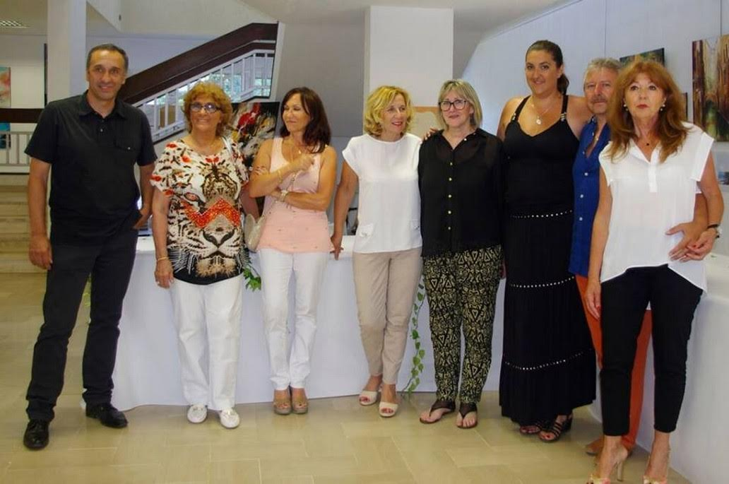 Les artistes membres de l'association Corsic'Arts