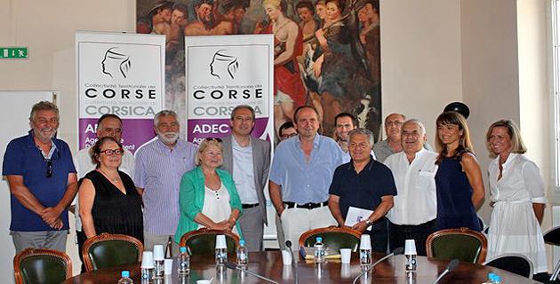 L'Adec à la rencontre des décideurs et acteurs économiques de Balagne