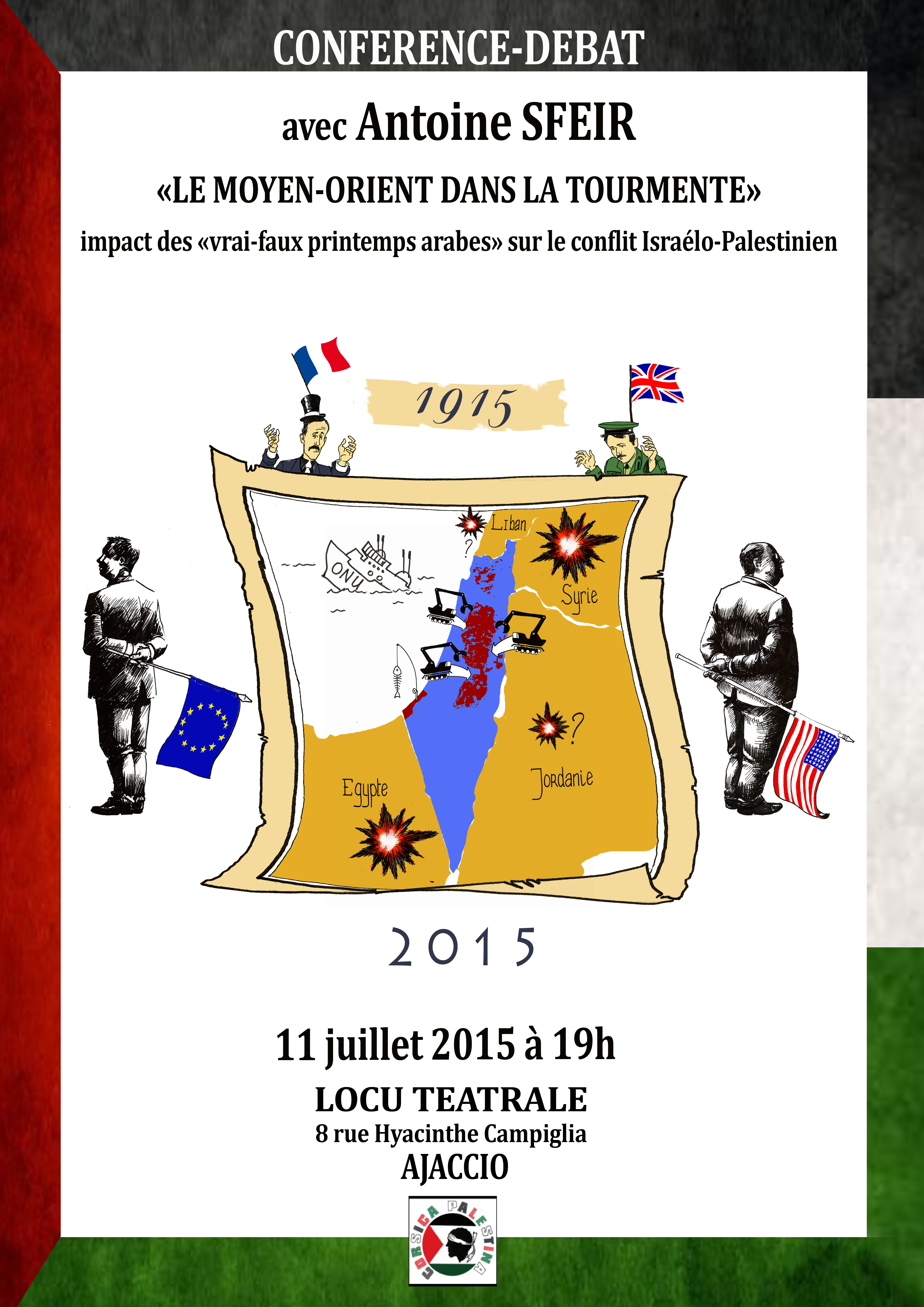 Conférence-débat avec Antoine Sfeir le samedi 11 juillet à Locu Teatrale