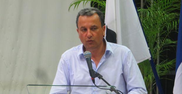 François Tatti, conseiller territorial de gauche, président de la CAB (Communauté d'agglomération de Bastia) et président du Syvadec, candidat à l'élection territoriale de décembre prochain.