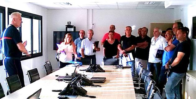 SDIS de Haute-Corse : Réunion de travail enrichissante avec les réserves communales de sécurité civile