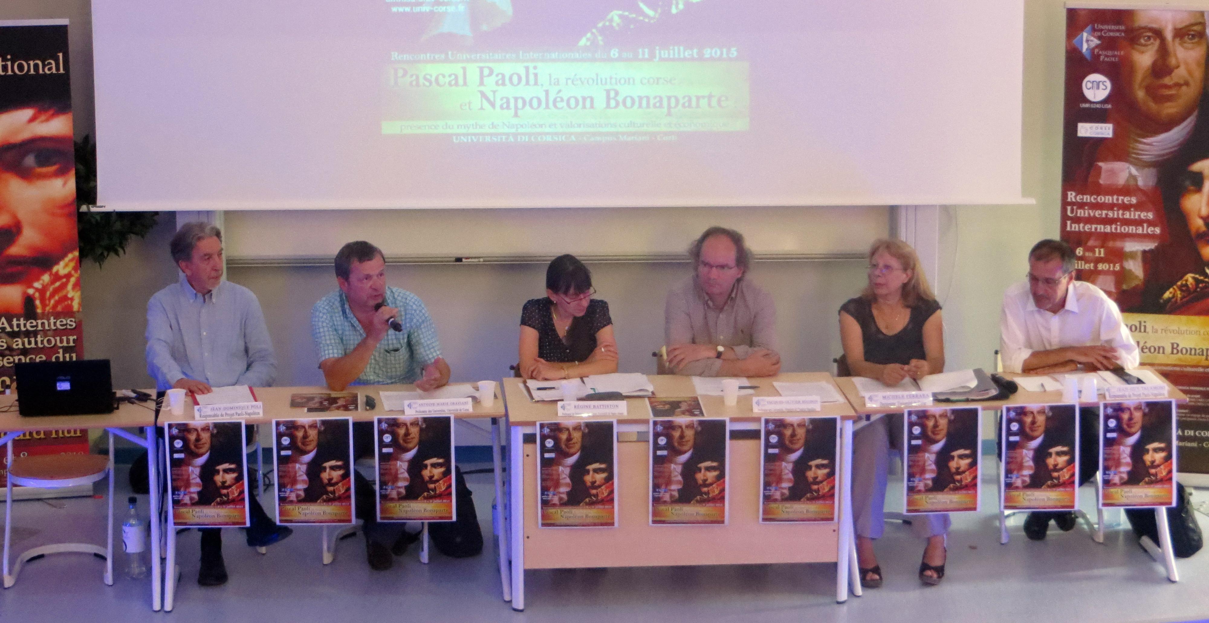 """""""Le projet Paoli-Napoléon est véritablement porteur d'avenir pour la Corse !"""""""