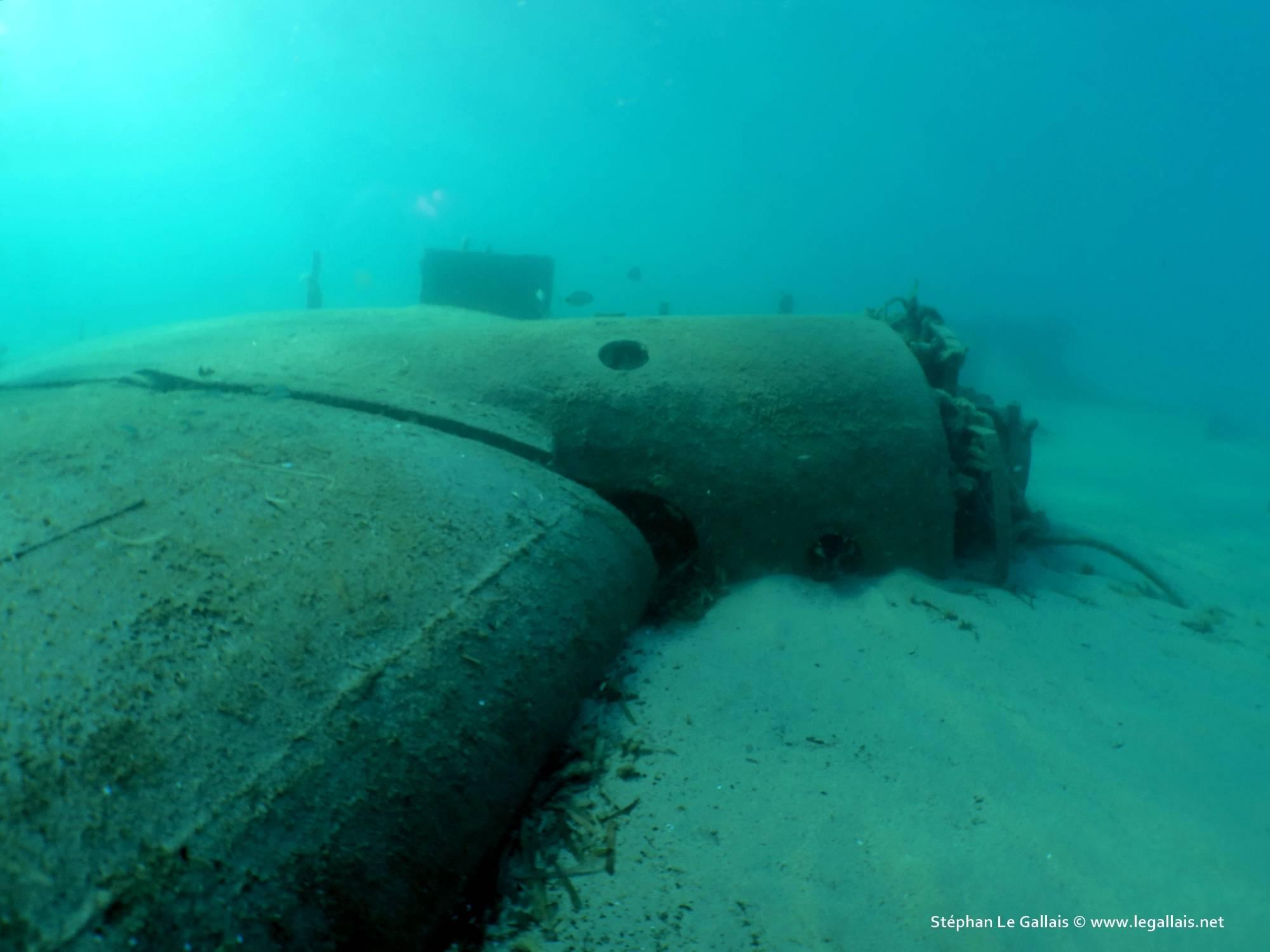 L'épave d'un Junkers Ju 90 de la Lufthansa découverte devant Bastia