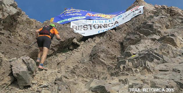 Restonica trail : Lambert Santelli et Guillaume Peretti après Dominique Luciani