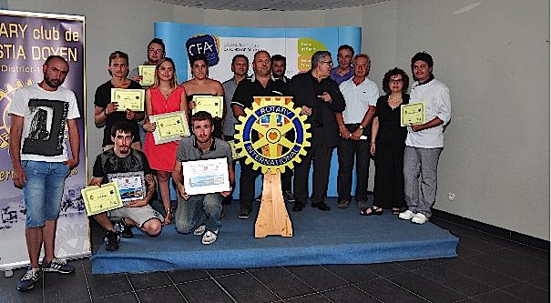 CFA de Haute-Corse : L'apprentissage récompensé