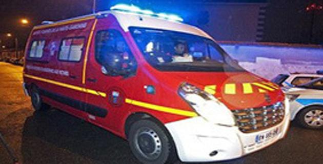 Francardo : Une voiture se met sur le toit et prend feu. Deux blessés légers