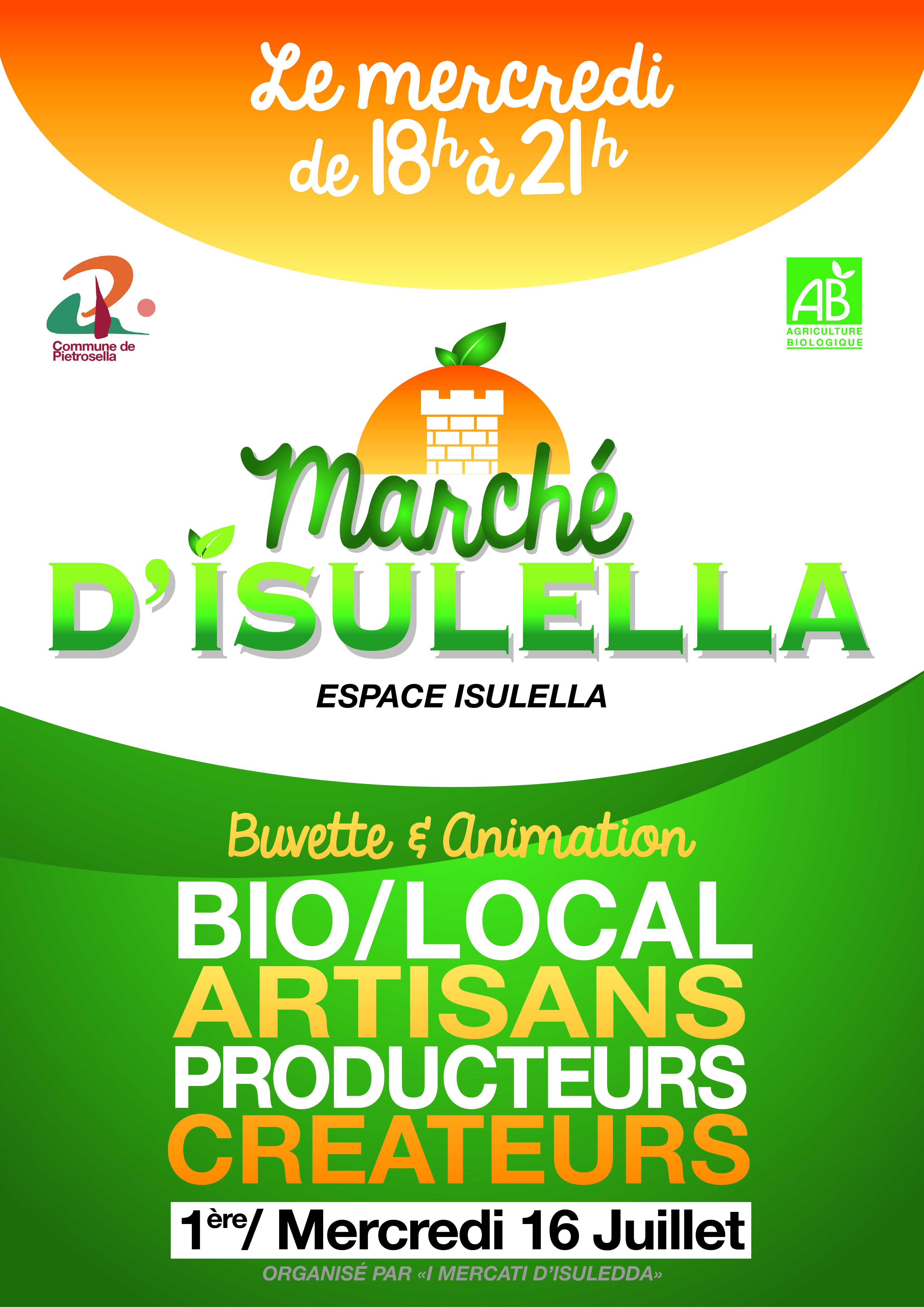 Pietrosella : Un marché nocturne à Isolella !
