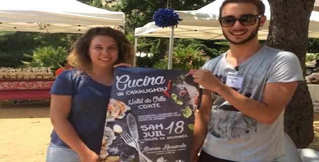 Corte : L'AGC a proposé sa Cucina in Carrughju