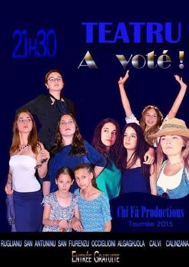 """La pièce de Catalina Agostini """"A voté"""" le 24 juillet à """"La Poudrière"""" de Calvi"""