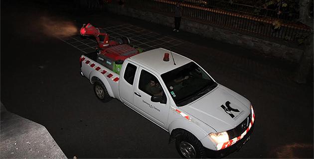 Ajaccio : Opération de démoustication préventive de La Madonuccia au Parc  Berthault