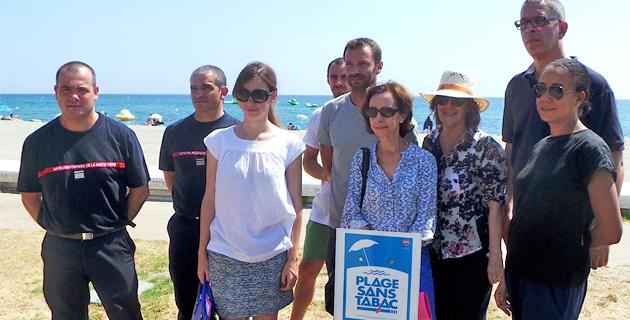 Bastia : La plage de l'Arinella a son espace sans tabac