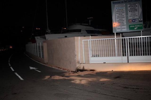 Accident spectaculaire au port de plaisance de Calvi