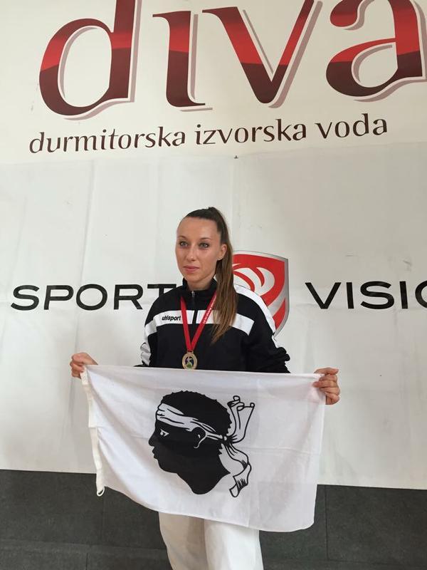 Un second titre consécutif de championne d'Europe universitaire pour Alexandra Feracci