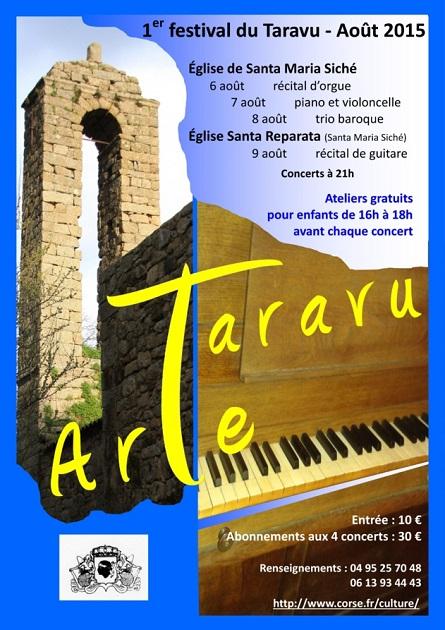 "Santa Maria Siché : 1ère édition du festival ""Arte Taravu"""