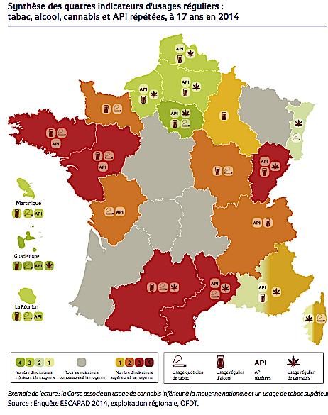 Les drogues à 17 ans : Les chiffres inquiétants du tabagisme en Corse