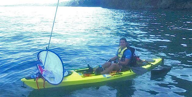 Sclérose en plaques : Saint-Florent-Bonifacio en kayak de mer pour soutenir la recherche