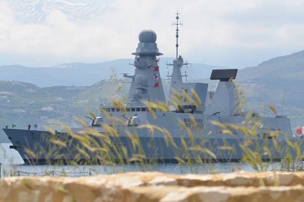 Bastia est la ville marraine du Forbin depuis juillet 2010. (Photo @Marine nationale)