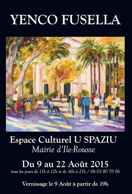 Exposition au Spaziu de l'Île-Rousse : Yenco-Fusella en lumière