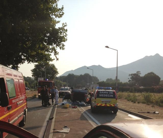 Un mort et deux blessés graves dans un accident à Algajola