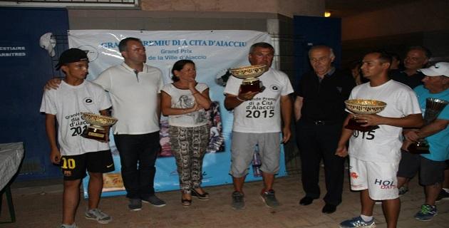 Pétanque : Phlippe Dionisi double vainqueur des épreuves de l'associu grande premiu di a cità d'Aiacciu