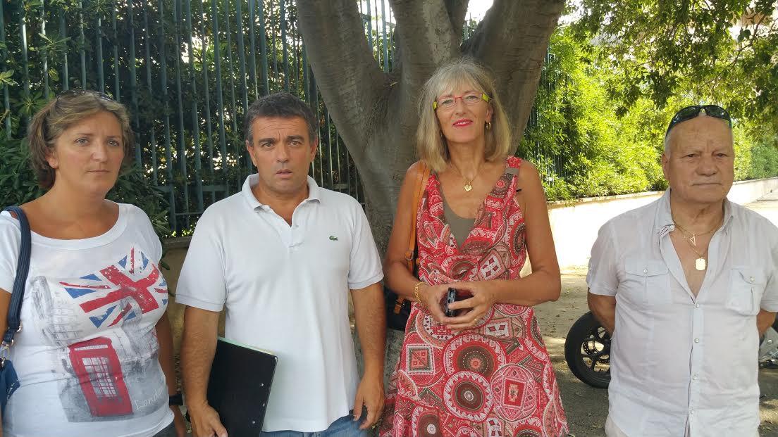 Les membres de la famille de Xavier Figarella et Jean-François Baccarelli, leader de l'Alliance écologiste en Corse, avait plaide la cause du militant de Sea Sheperd à la préfecture de Haute-Corse