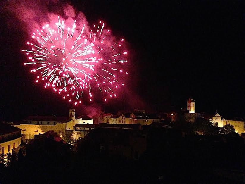 Le 15-Août à Bastia : Festival pyrotechnique au-dessus de la ville