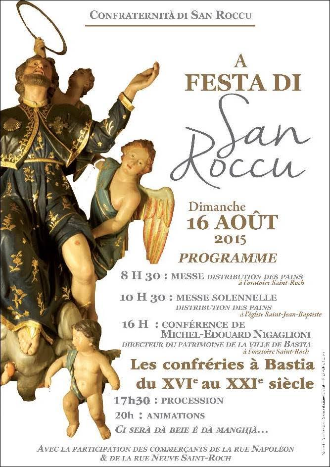 Bastia célèbre Saint-Roch