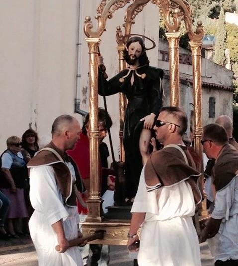 San Roccu fêté à Zilia