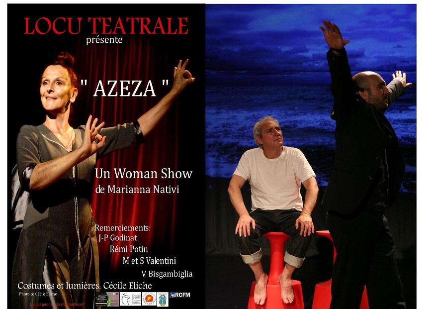 """Locu Teatrale e u Teatrinu présentent  Una sirata di Teatru Corsu ,""""Sottu a l'Acqua"""" et """"Azzeza""""  à Sisco"""